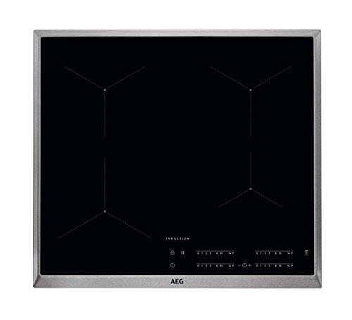 AEG IKB64431XB Autarkes Kochfeld / Herdplatte mit Touchscreen,...