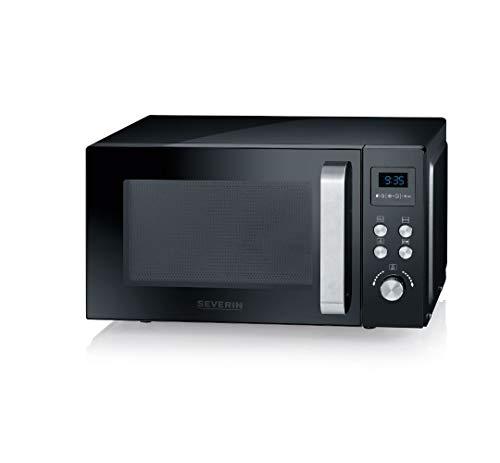 SEVERIN 3-in-1 Mikrowelle mit Grill und Heißluftfunktion bis zu 200 °C,...