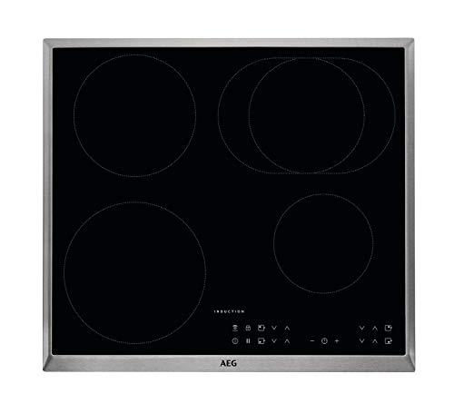AEG IKB6431AXB Autarkes Kochfeld / Herdplatte mit Touchscreen,...