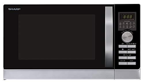 Sharp R843INW 3-in-1 Mikrowelle mit Heißluft, Grill und Konvektion/ 25 L /...