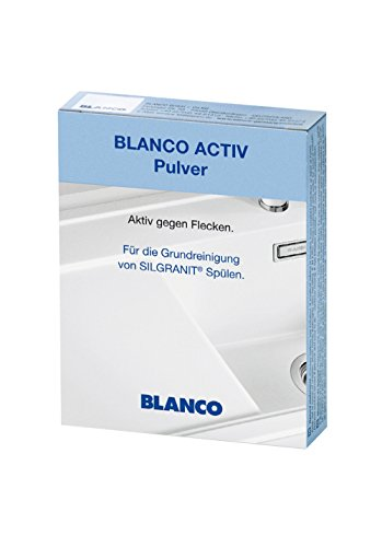 BLANCO Activ Pulver | zur Grundreinigung von Silgranit Spülen | 3er Pack |...
