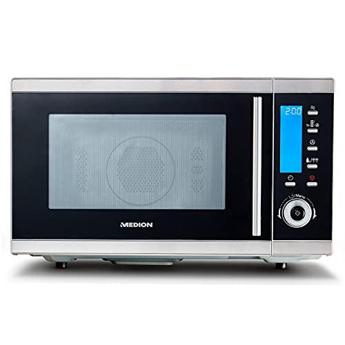 MEDION MD 15501 4 in 1 Mikrowelle mit Grill (25 Liter, 900 Watt, 1100 Watt...