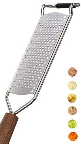 LNG Premium Zester Reibe (30x6cm) - Deine Hochwertige Parmesanreibe,...